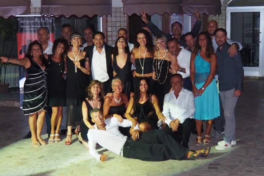 Corsi Tango Bologna - Modena - Roberto Fersi - Foto gruppo tangovcacanza 2016