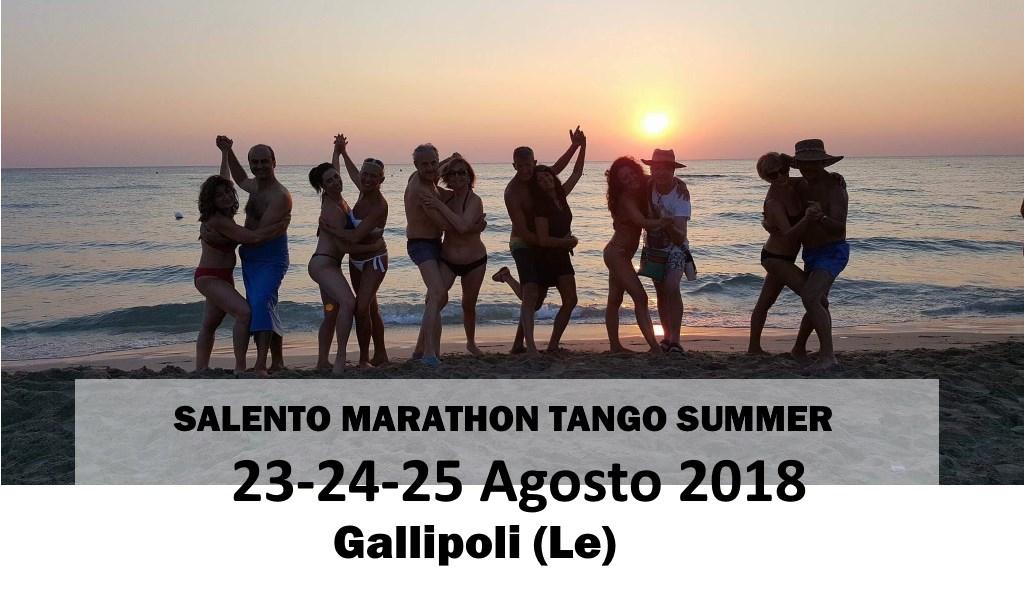 banner - salento marathon tango summer - 2018 - Gallipoli - Lecce - Roberta Fersi